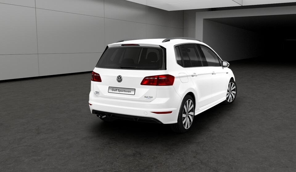 Volkswagen Golf Sportsvan R-Line Unveiled with Exterior and Interior Upgrades - autoevolution