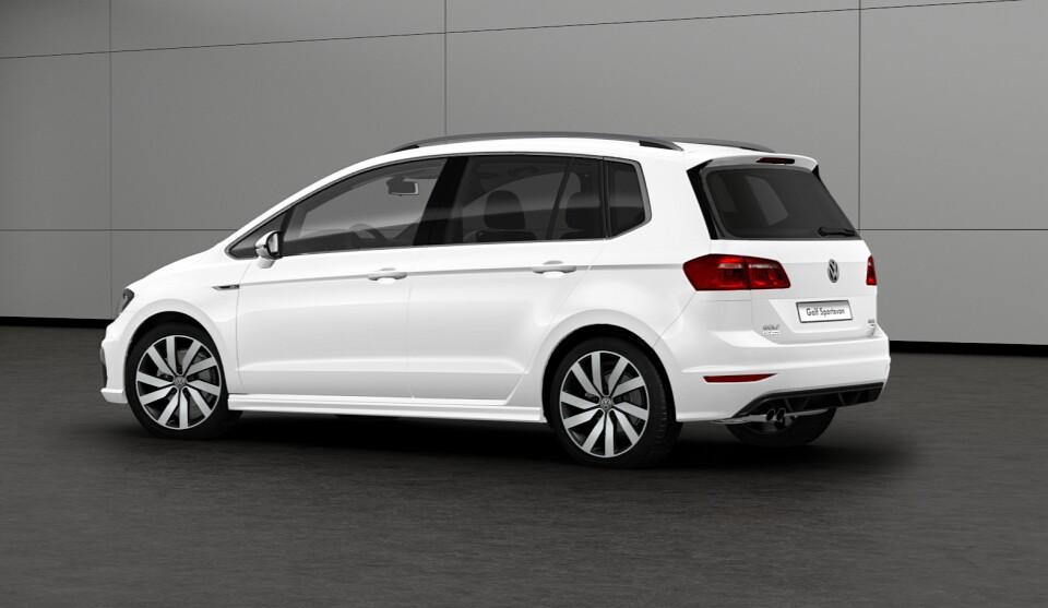 Volkswagen Golf Sportsvan R-Line Unveiled with Exterior ...