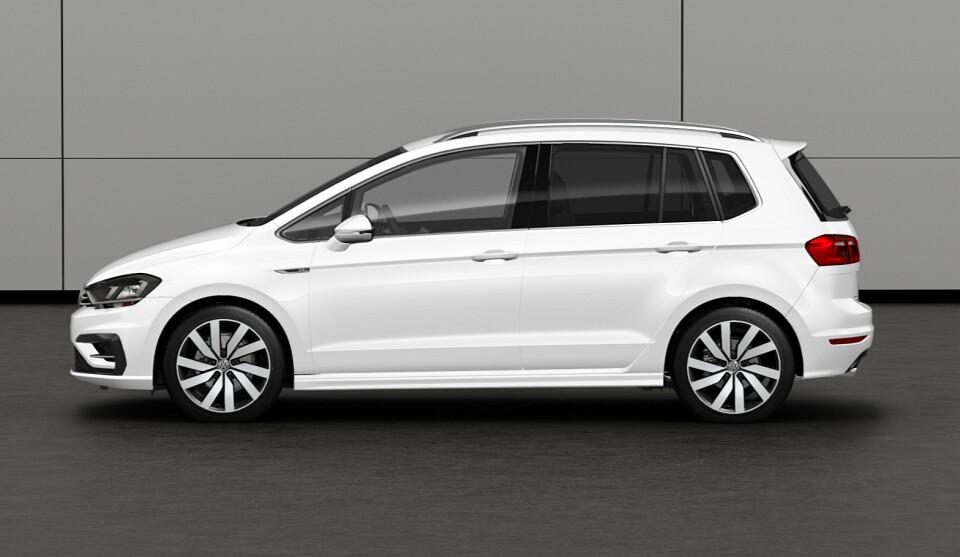 Volkswagen Golf Sportsvan R Line Unveiled With Exterior