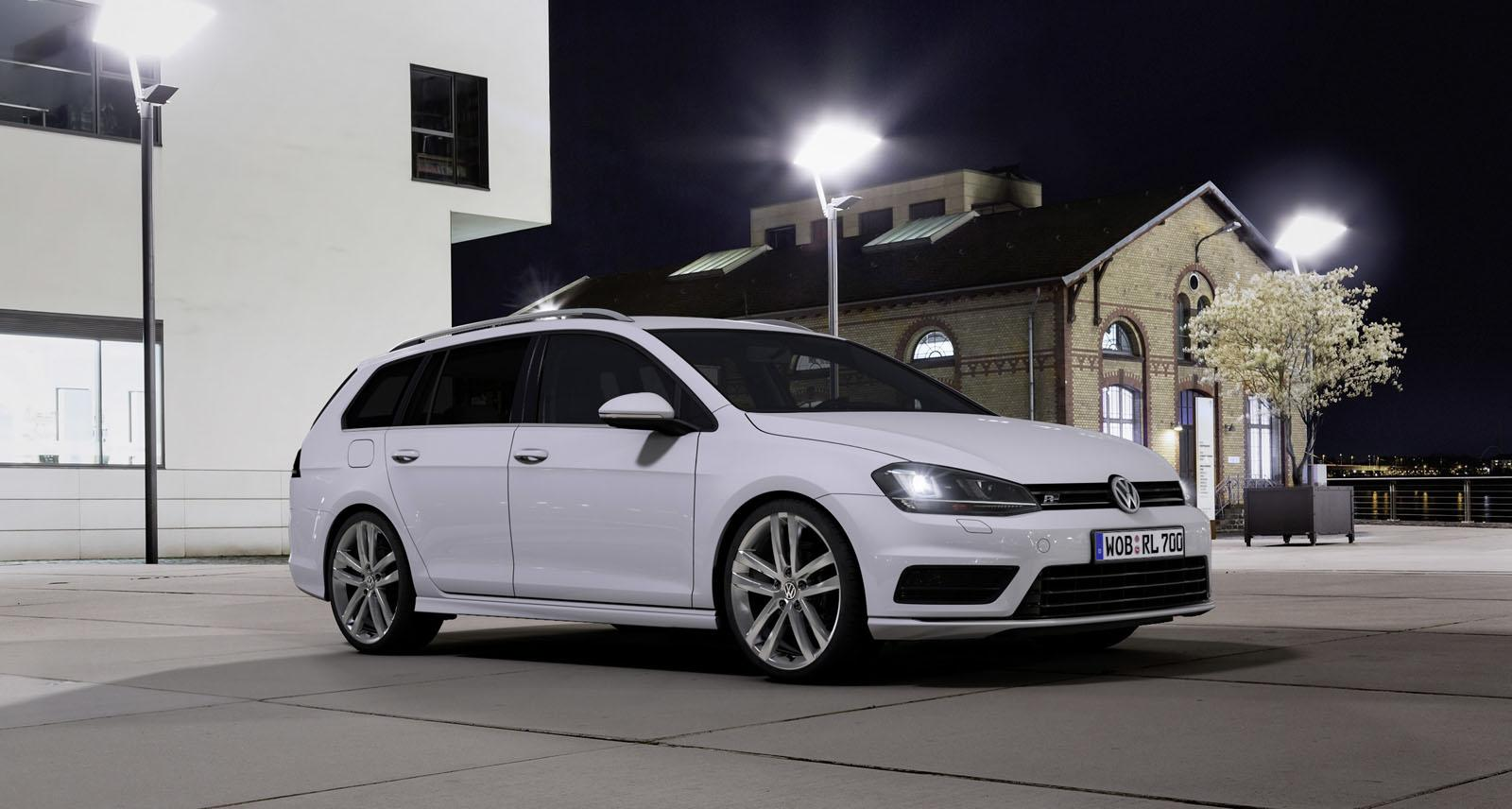 Black Golf R >> Volkswagen Golf Variant and Scirocco Updated with R-Line Packages - autoevolution