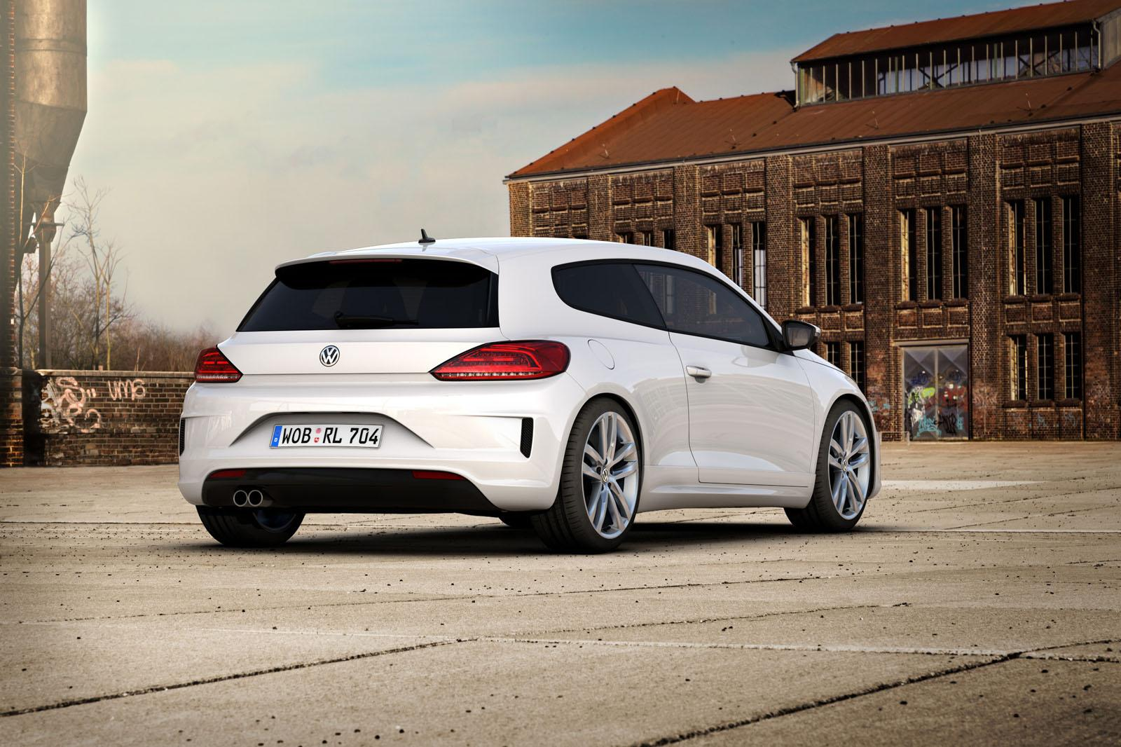 volkswagen golf variant and scirocco updated with r line. Black Bedroom Furniture Sets. Home Design Ideas