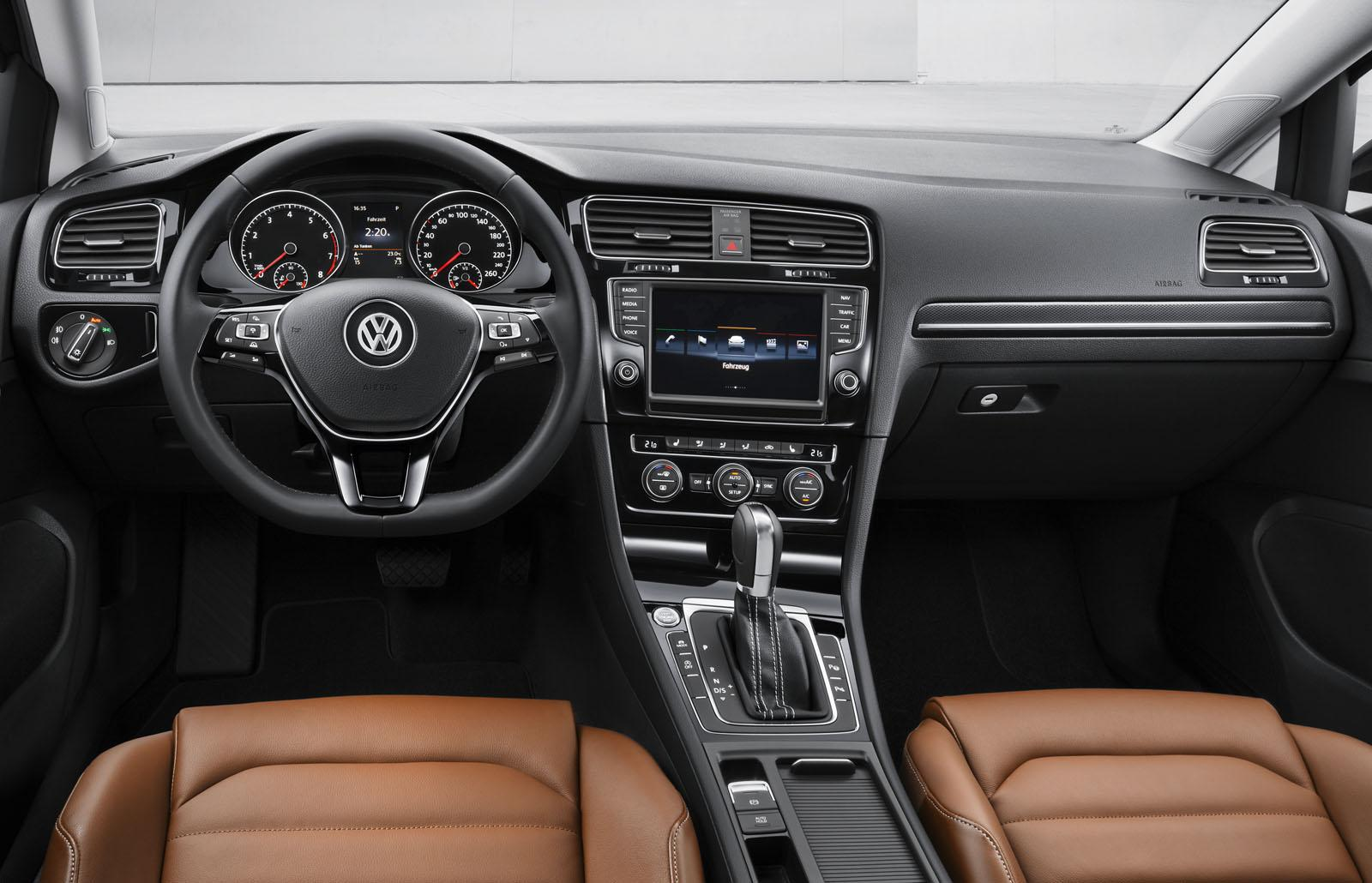 Volkswagen golf vii official specs and images released autoevolution