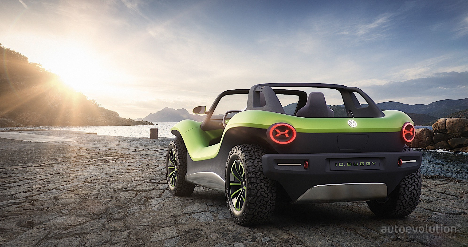 Volkswagen ID Buggy Is a Speck of Green Beach Fun in Geneva - autoevolution