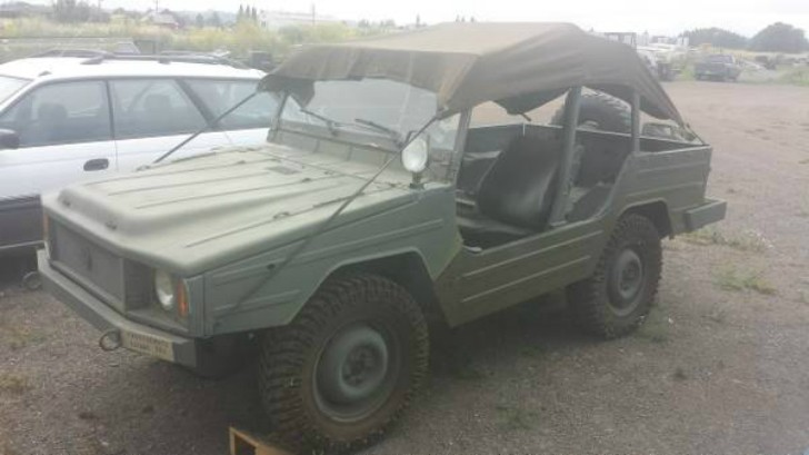 Volkswagen Iltis (Type 183) Costs $6,000 on Craigslist - autoevolution