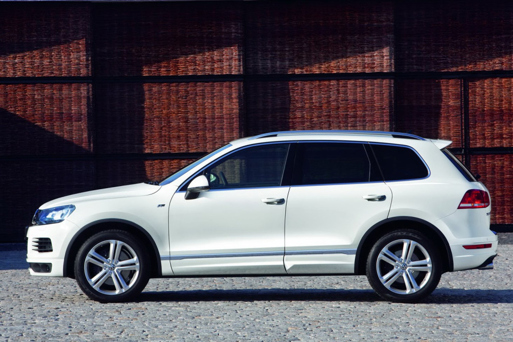 Volkswagen Introduces New R-Line Package for Touareg - autoevolution