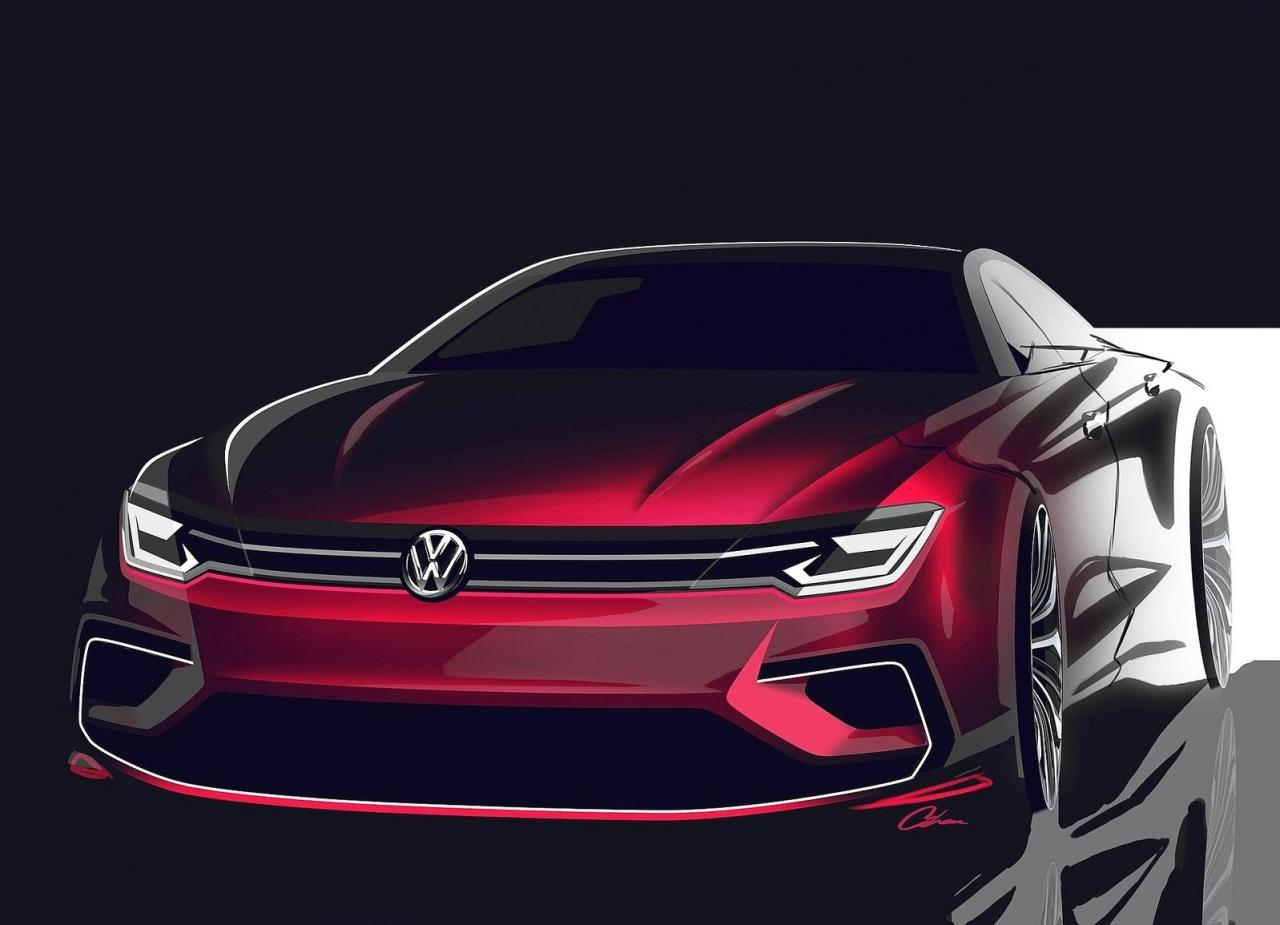 volkswagen jetta cc will enter production in 2016. Black Bedroom Furniture Sets. Home Design Ideas