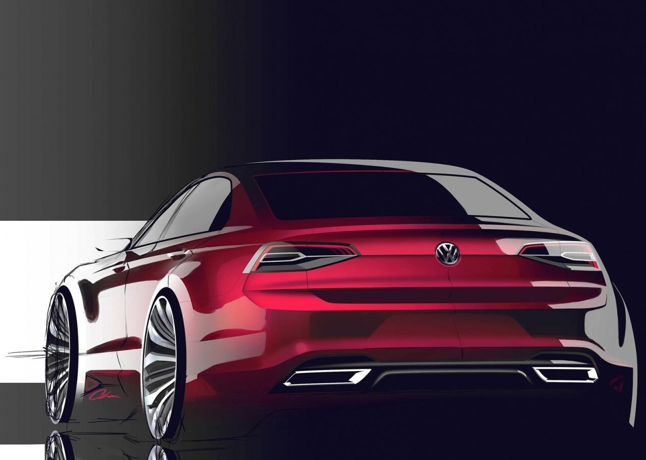volkswagen concept jetta cc coupe production coming midsize enter vw cars sketch autoevolution models