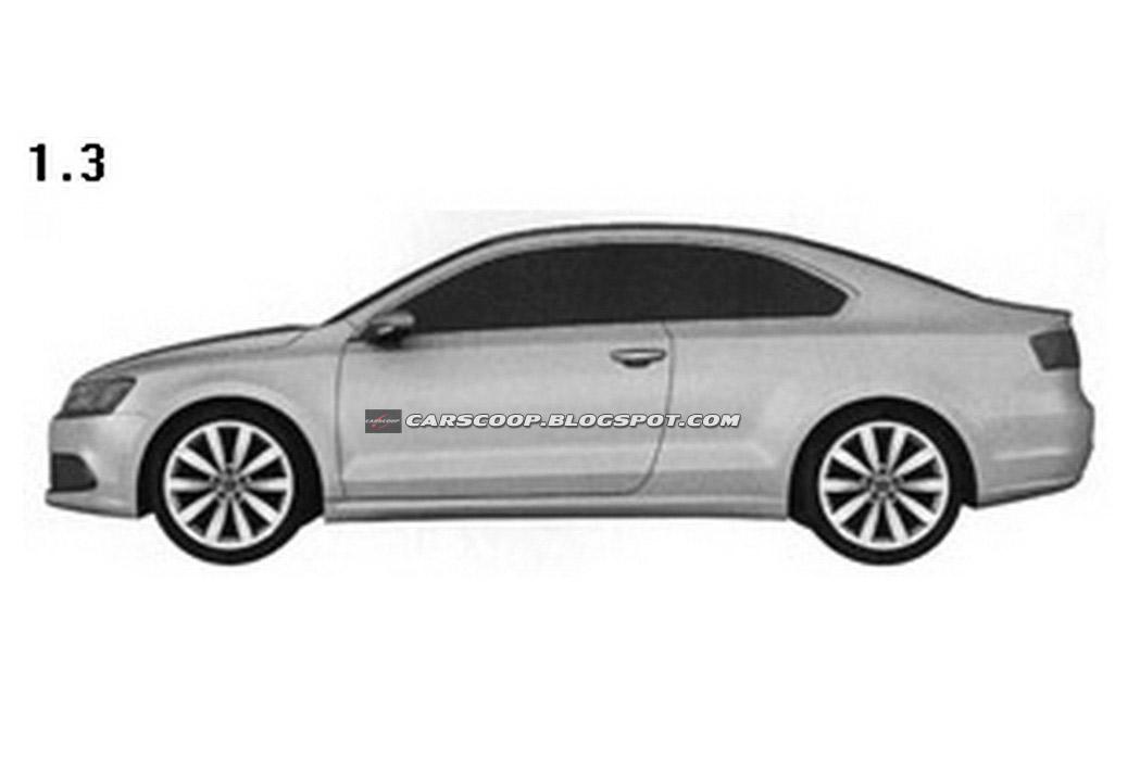 volkswagen jetta coupe patents filed autoevolution