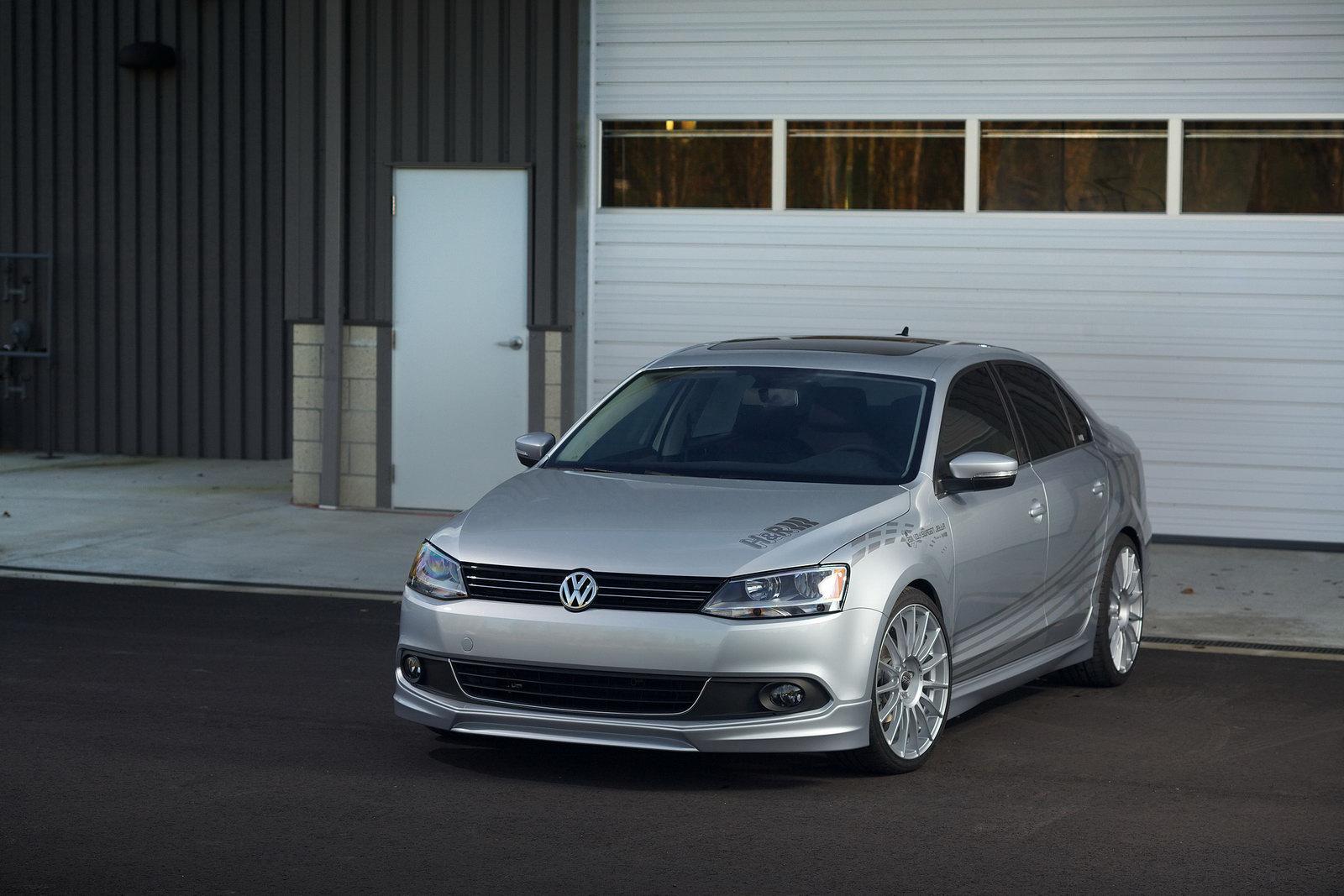 Volkswagen Jetta Gets H&R Treatment - autoevolution
