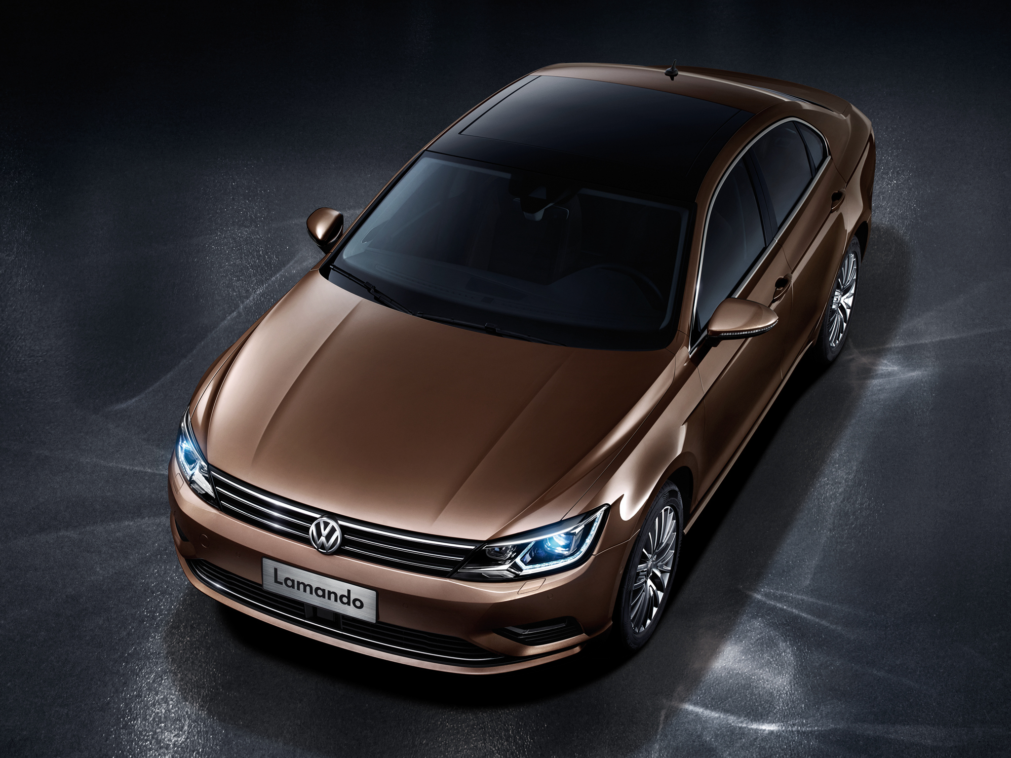 Volkswagen Lamando Four-Door Coupe Officially Revealed in China [Video] - autoevolution