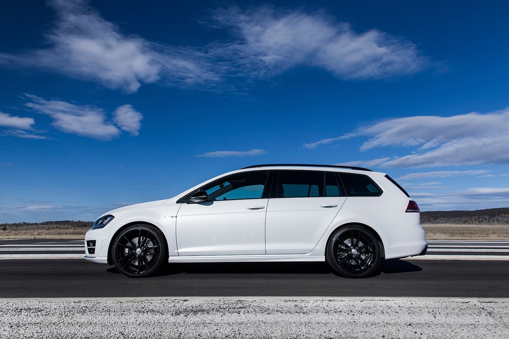 Volkswagen Launches Golf R Wagon Wolfsburg Edition In