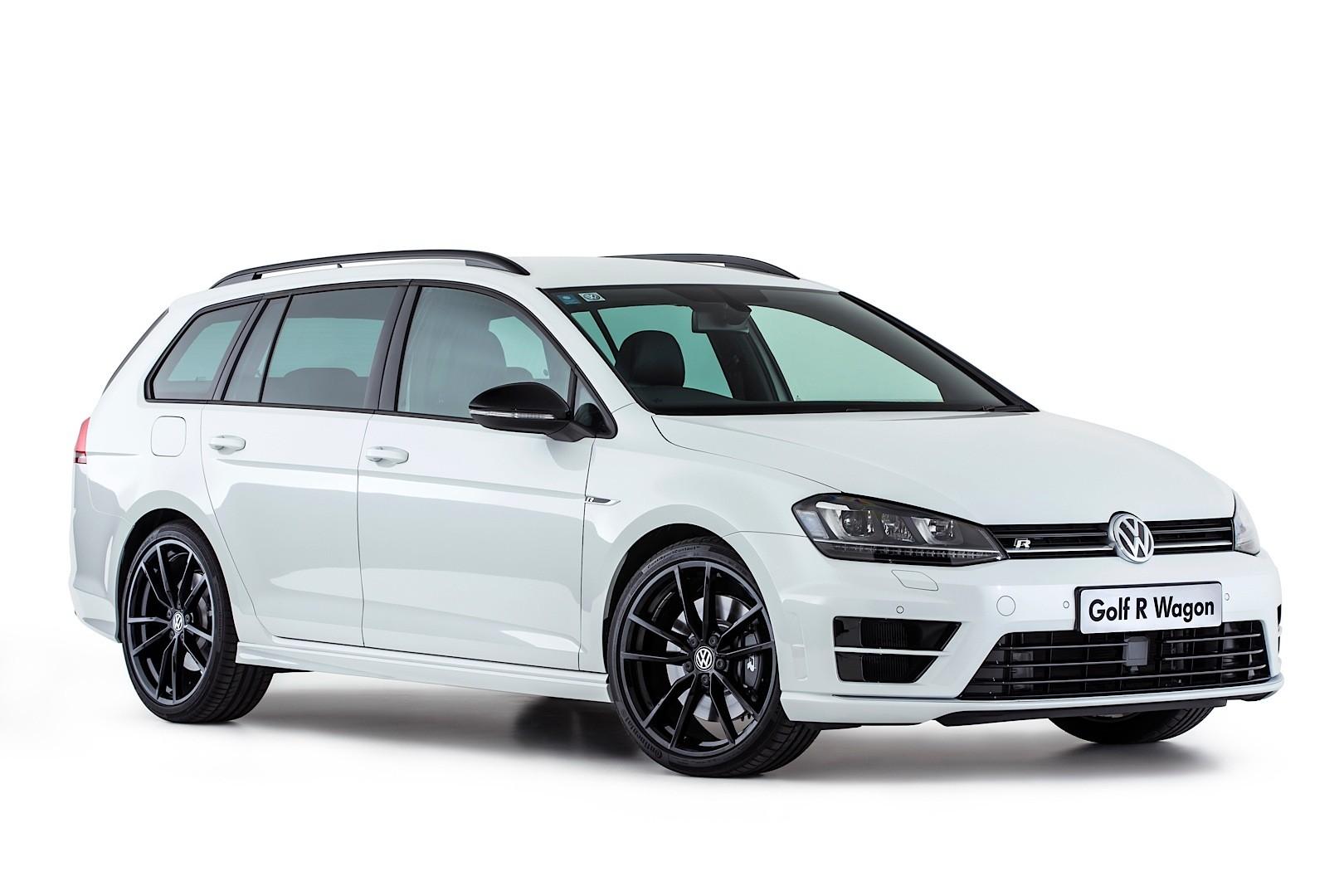Volkswagen Launches Golf R Wagon Wolfsburg Edition in Australia and It's White - autoevolution