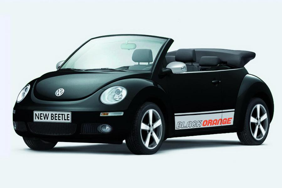 beetle edition orange special vw volkswagen 2009 convertible autoevolution