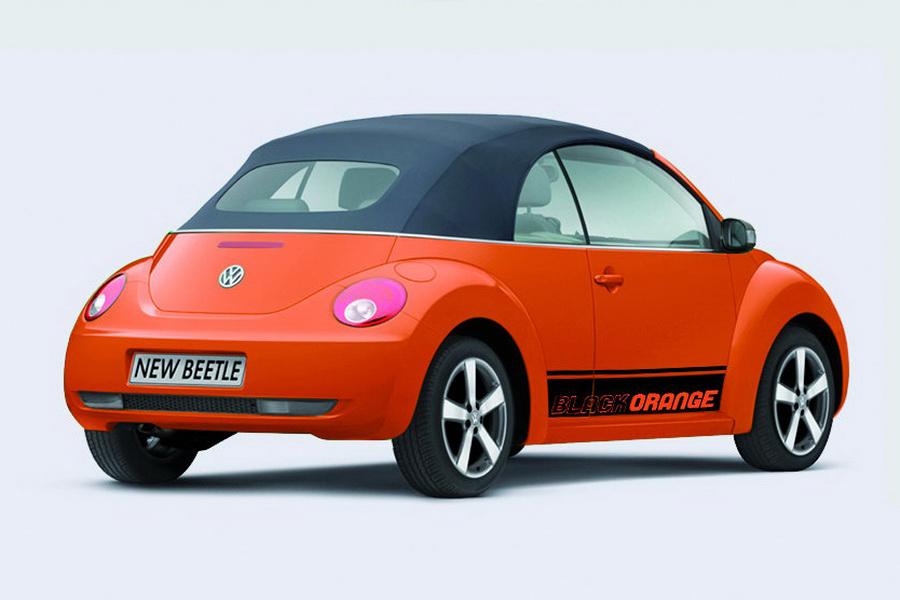 VW Cc For Sale >> Volkswagen New Beetle Black-Orange Special Edition ...