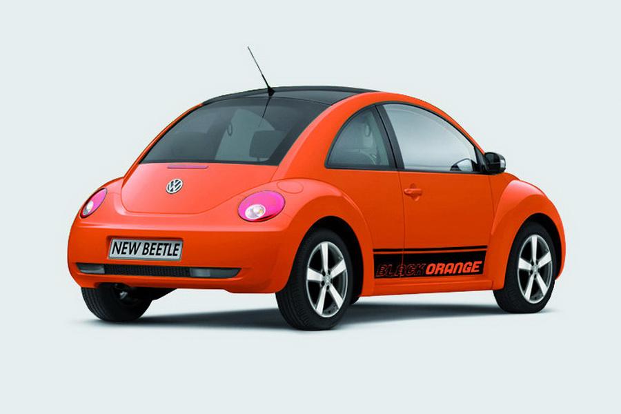 Volkswagen New Beetle Black-Orange Special Edition ...