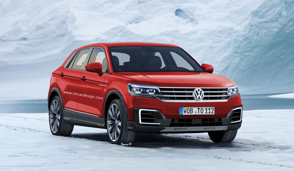 Volkswagen Polo SUV Rendered with T-Cross Front ...