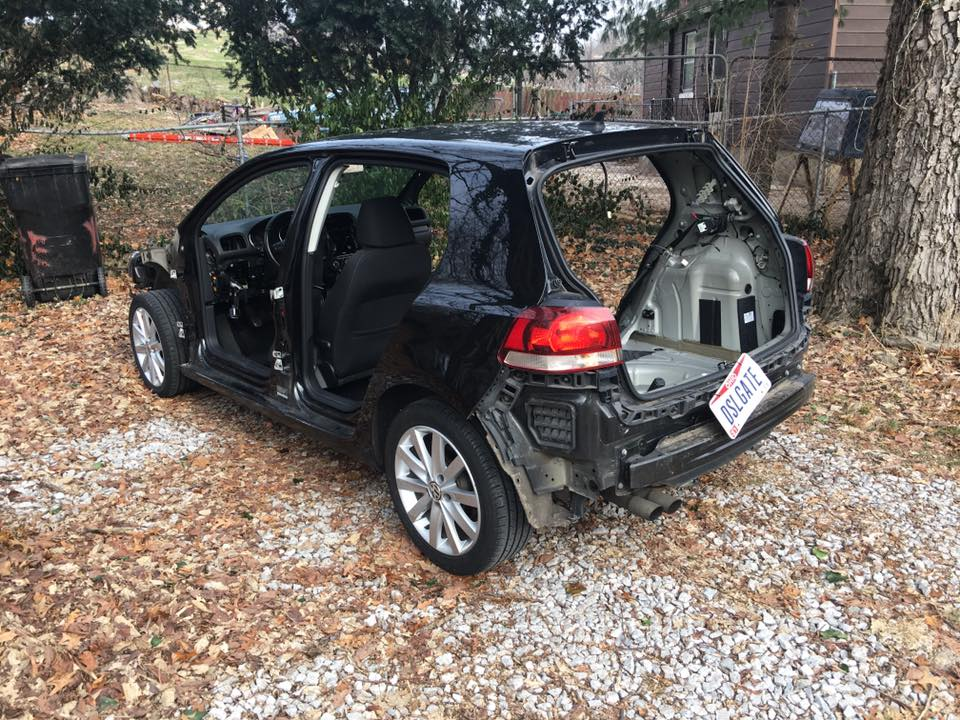 Volkswagen Postpones Buyback Appointment For The Most Stripped Out Golf TDI - autoevolution
