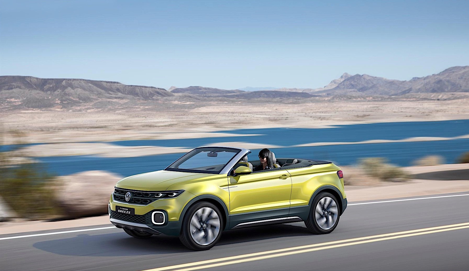 volkswagen reveals t cross breeze concept it 39 s a convertible suv autoevolution. Black Bedroom Furniture Sets. Home Design Ideas