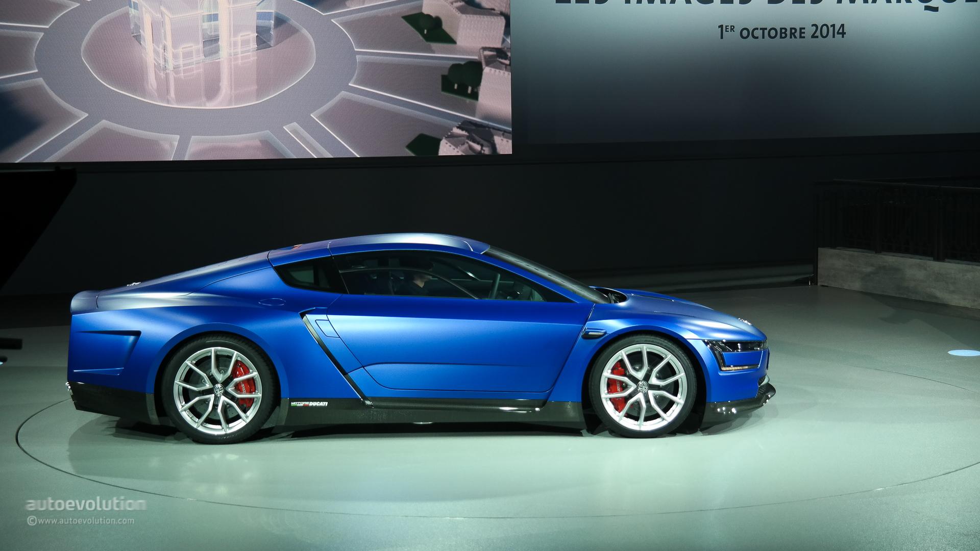volkswagen reveals xl sport powered by 200 hp ducati