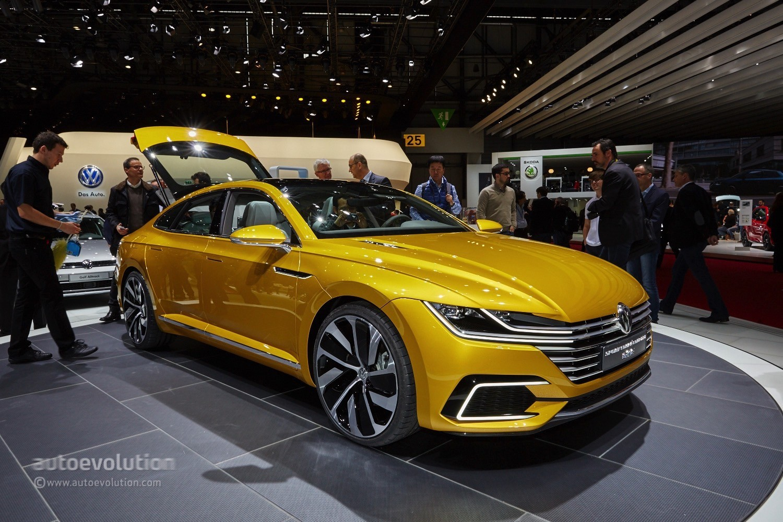 Volkswagen S Arteon Four Door Coupe Could Get A Seat Version Autoevolution