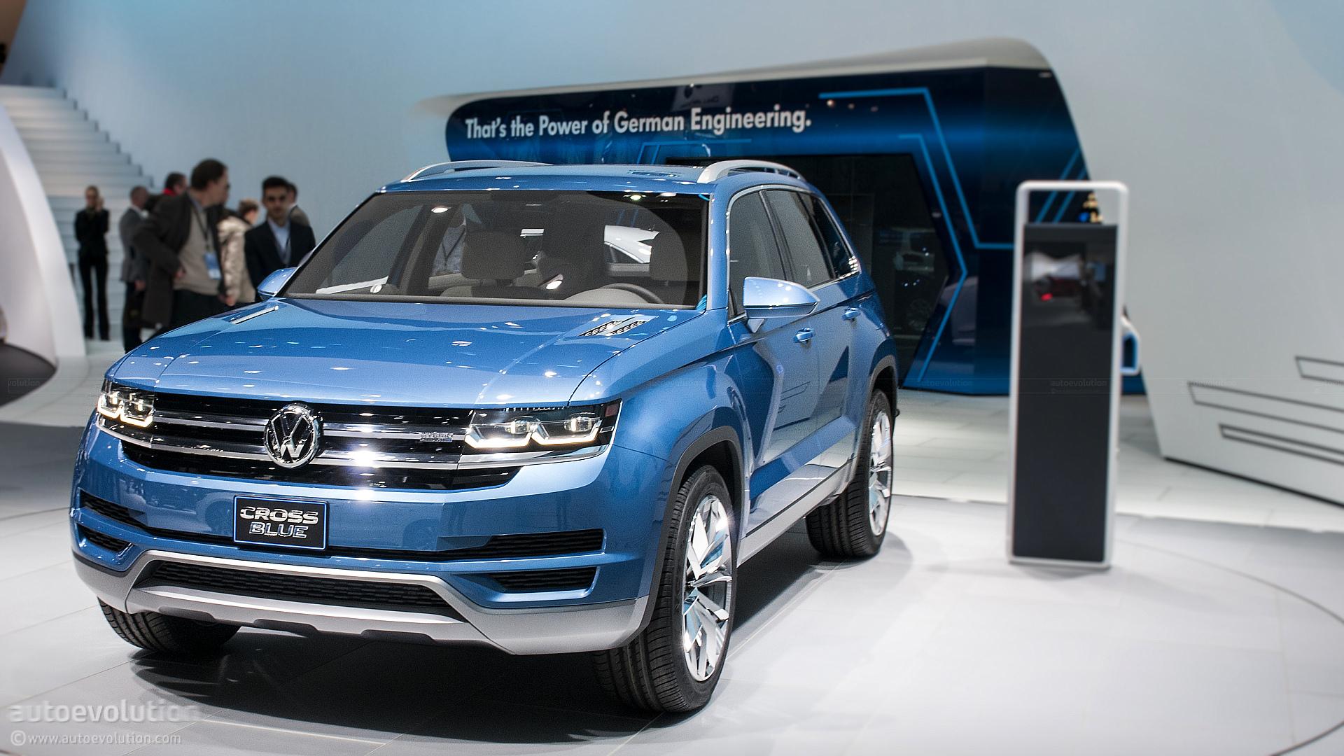 Volkswagen's New SUV Will Be Named Atlas, German Media Says - autoevolution