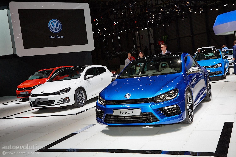 Volkswagen Scirocco Facelift Brings Subtle But Good Changes Live Photos Autoevolution