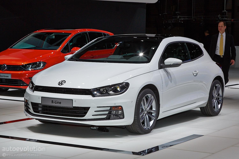 Volkswagen Scirocco Facelift Brings Subtle but Good Changes [Live Photos] - autoevolution