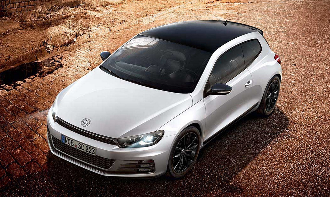 Volkswagen Scirocco GT Black Edition Announced in Britain - autoevolution