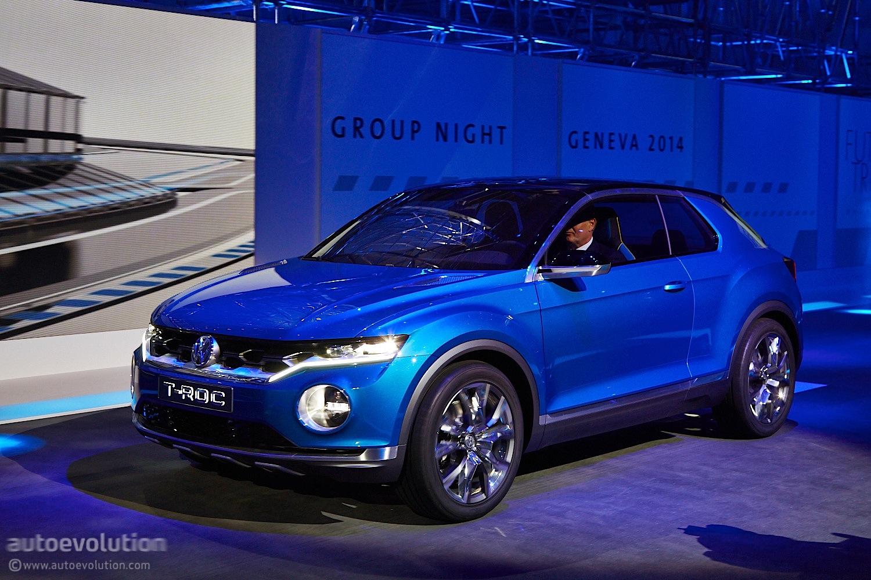 Volkswagen T Roc Concept Hints At Future Crossover Live