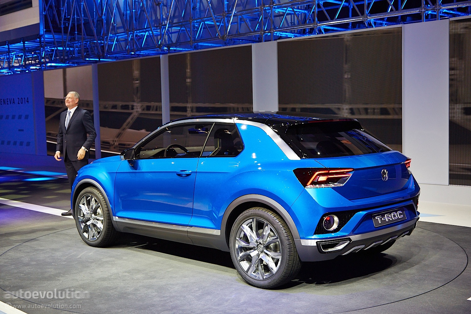 Volkswagen T Roc Will Go On Sale In Late 2017 Autoevolution