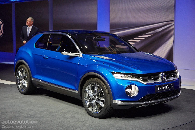 Volkswagen T-ROC Will Go On Sale In Late 2017 - autoevolution