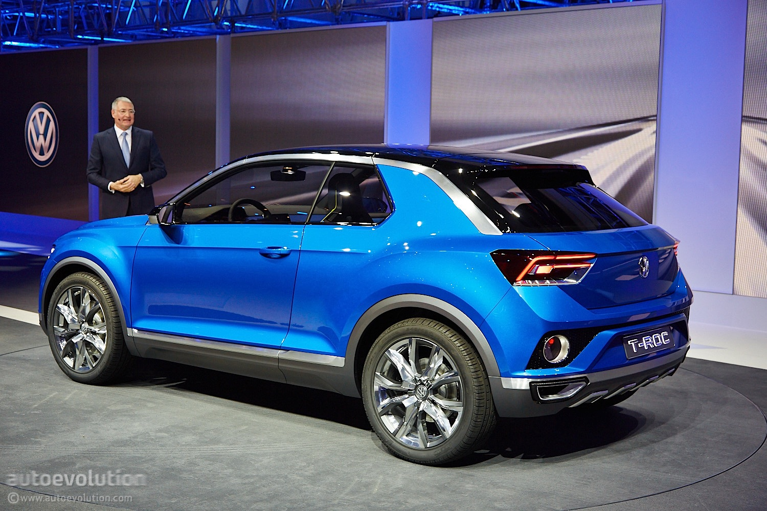 Volkswagen T-ROC Will Go On Sale In Late 2017 - autoevolution