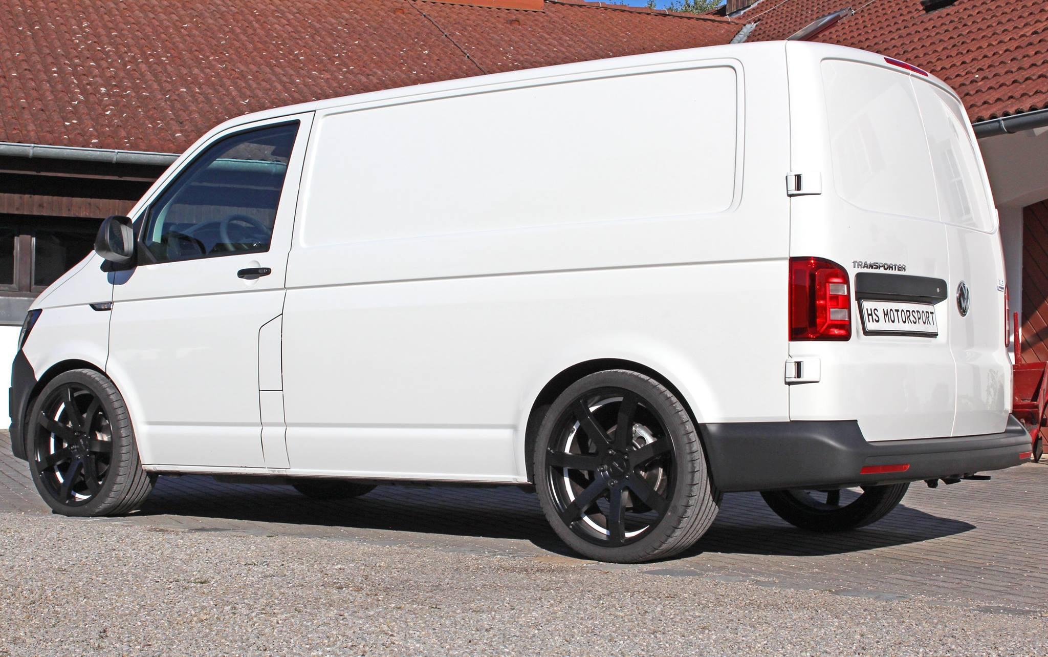 Volkswagen T6 Transporter 2.0 TDI Tuned by HS Motorsport ...