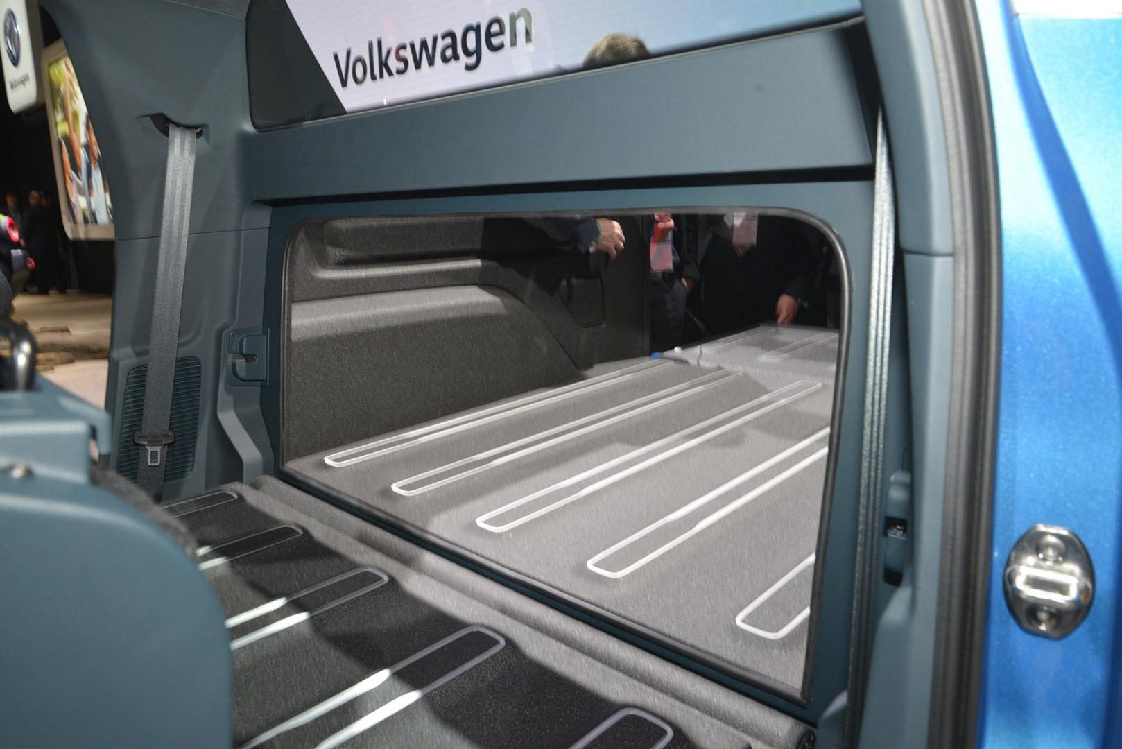 Volkswagen Tarok Previews Small Pickup at New York 2019 ...