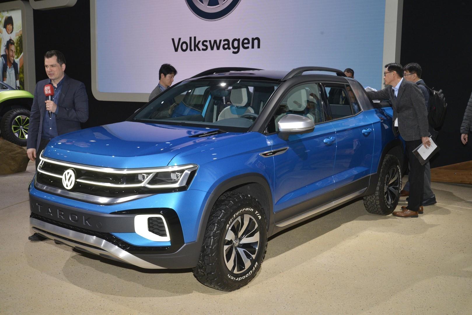 Volkswagen Tarok Previews Small Pickup At New York 2019