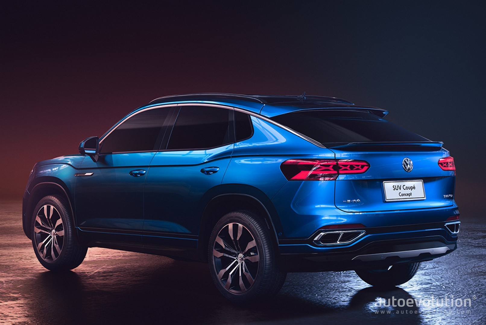 Volkswagen Teramont X (Atlas Coupe) and Possible Tiguan ...