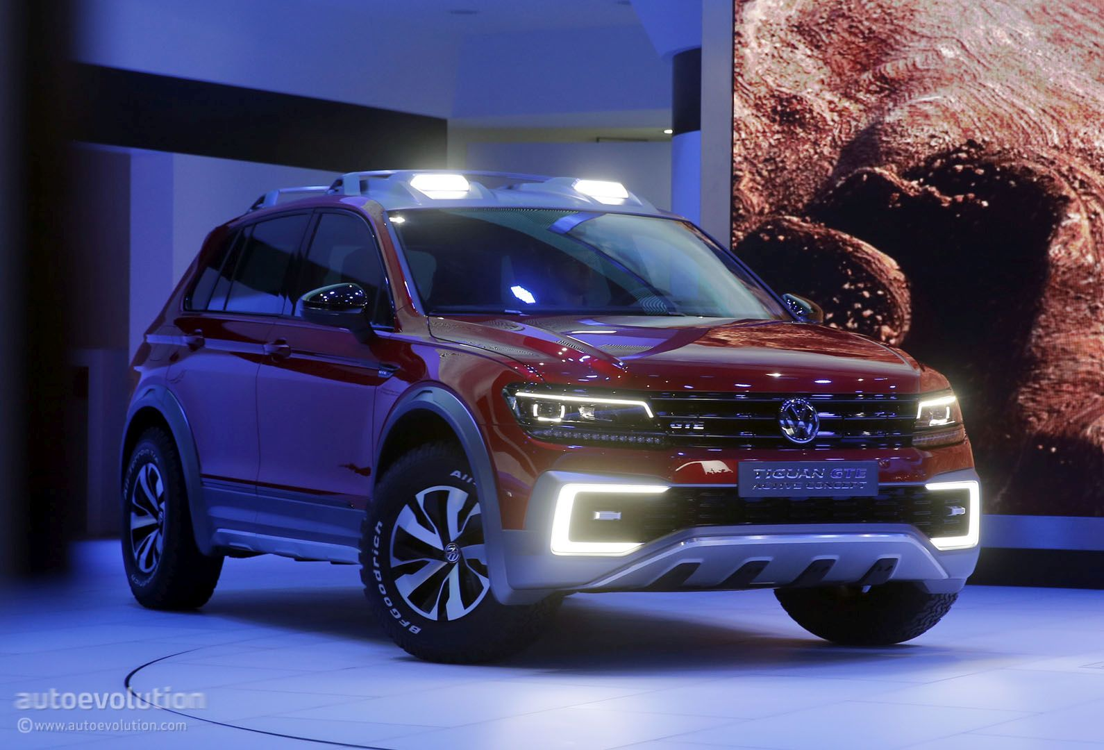 Volkswagen Tiguan Gte Active Concept Is A Rwd Based Sporty