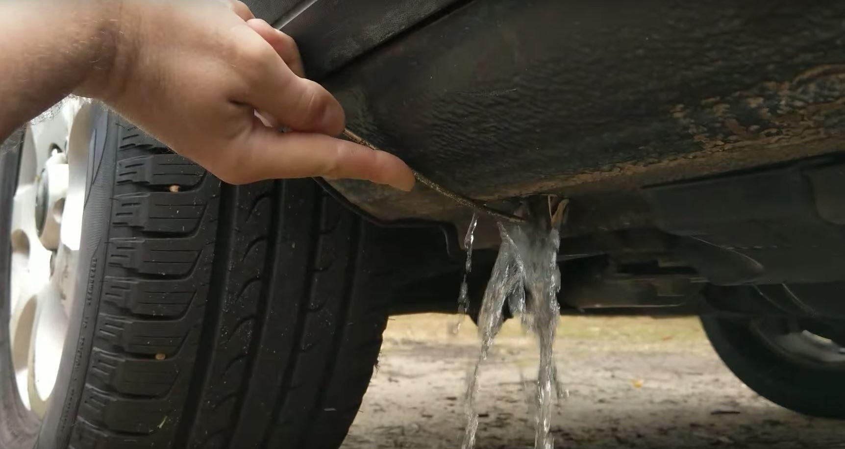 Volkswagen Touareg 7L Has a Water Retention Problem Thanks