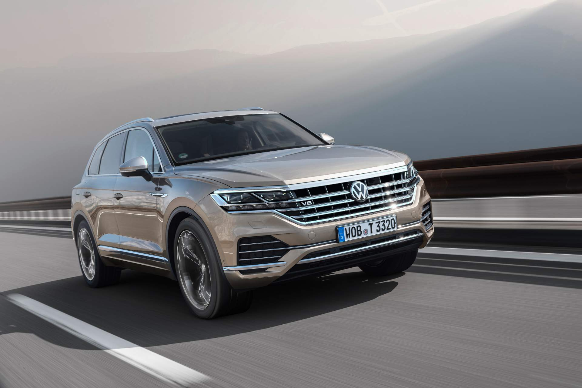 Volkswagen Touareg Gains 4.0 V8 TDI Just In Time For 2019 ...