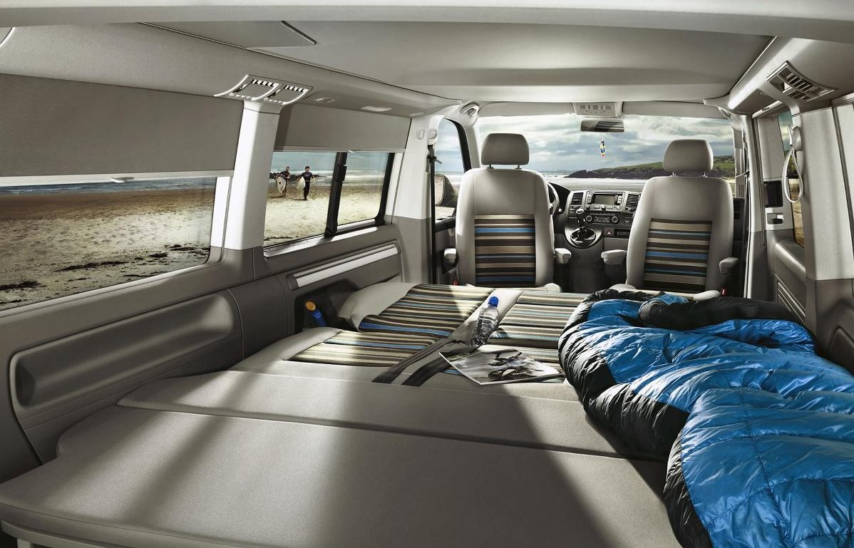 volkswagen transporter california beach debuts autoevolution. Black Bedroom Furniture Sets. Home Design Ideas