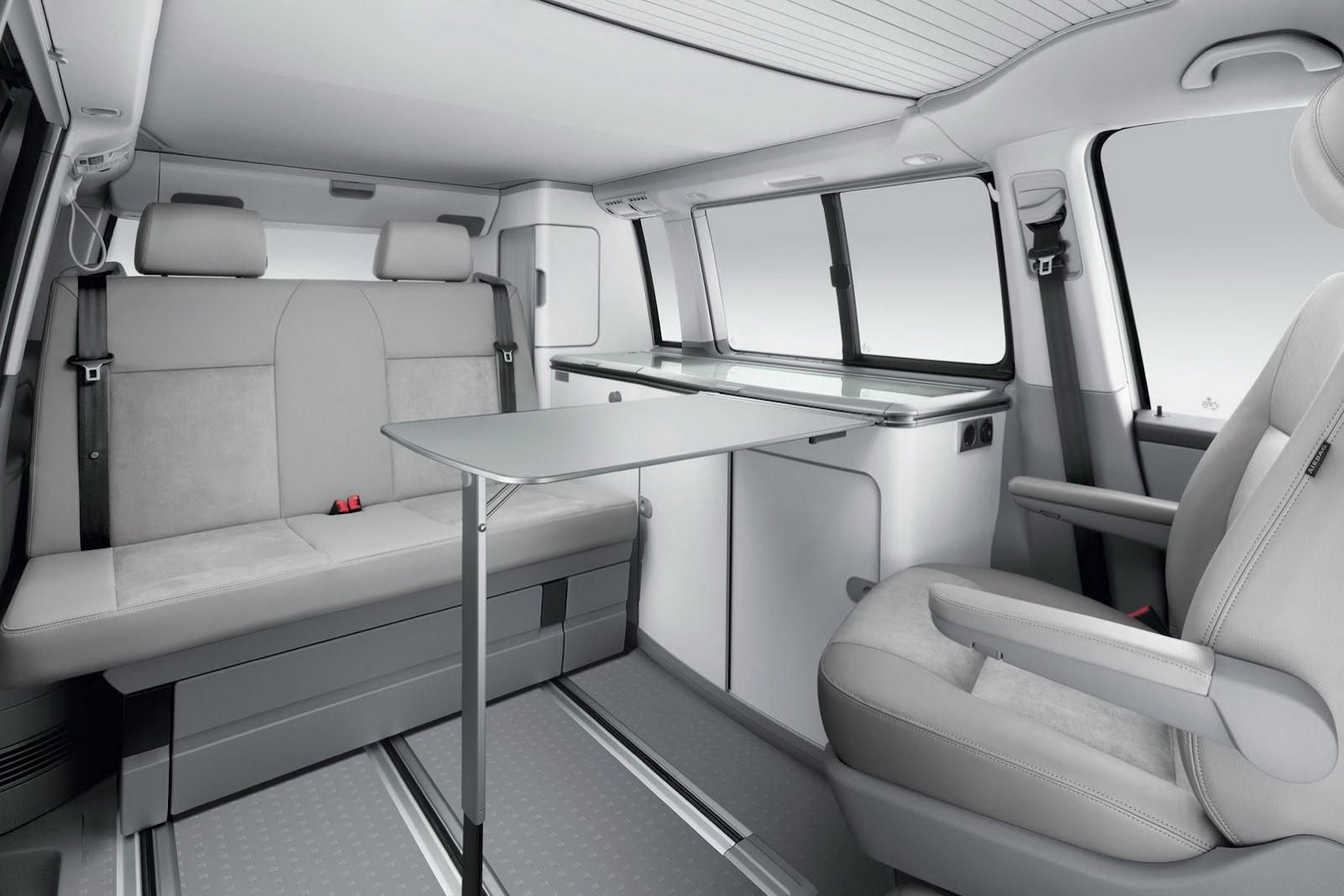 Volkswagen transporter california special edition announced autoevolution