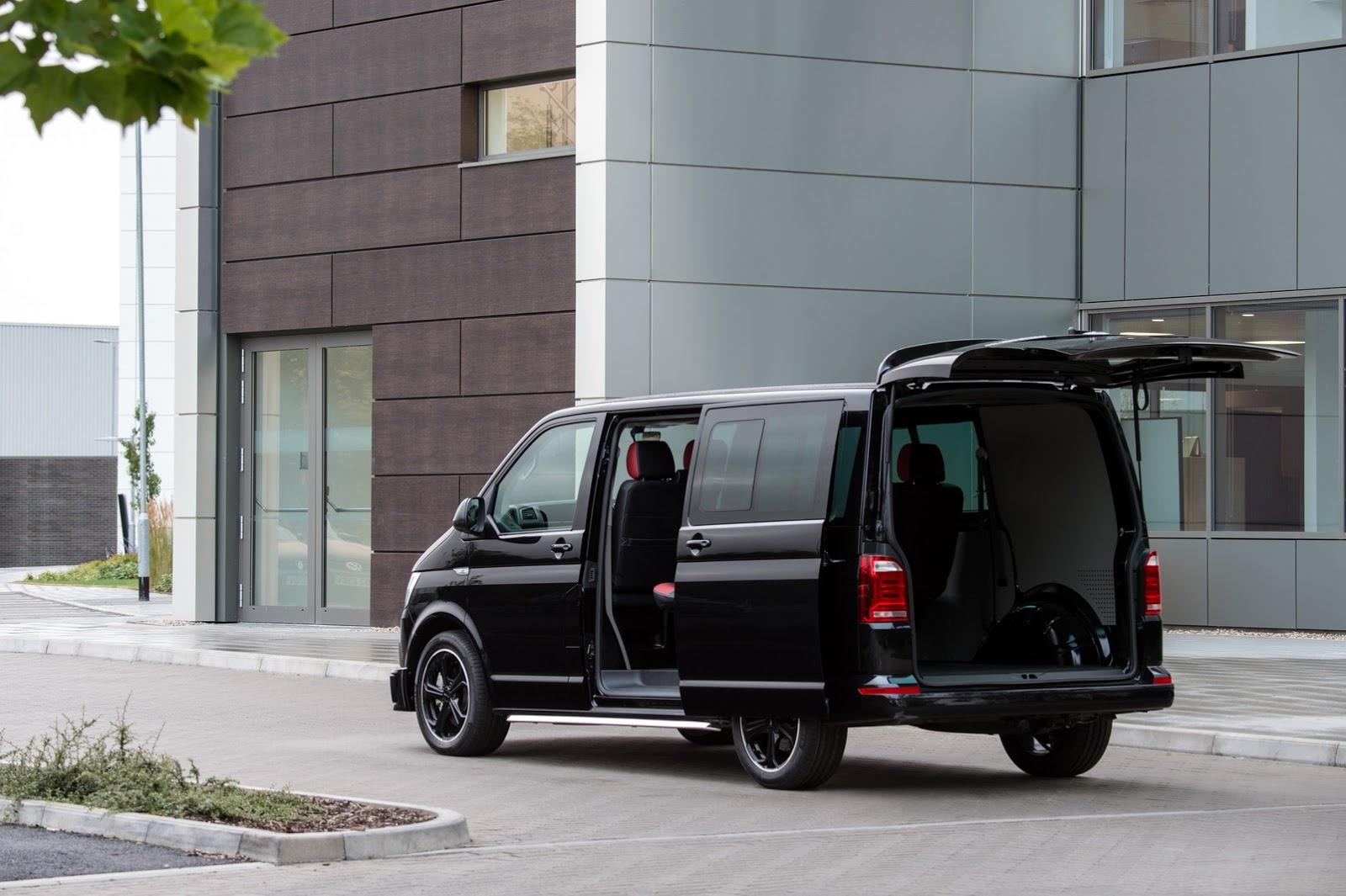 volkswagen transporter t32 sportline kombi launched in the uk autoevolution. Black Bedroom Furniture Sets. Home Design Ideas