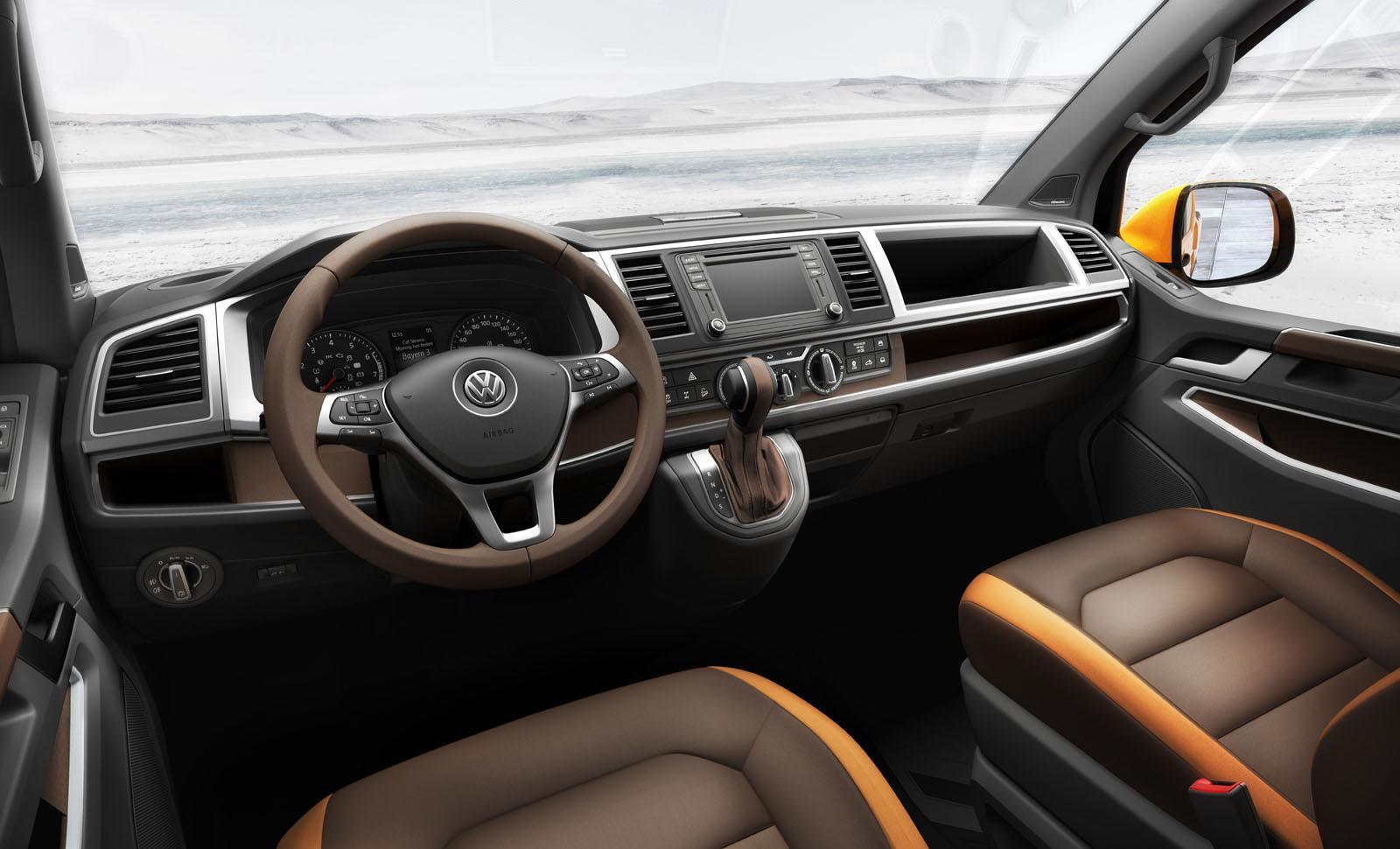 Volkswagen Tristar Concept Revealed in Hanover, Previews T6 Transporter - autoevolution