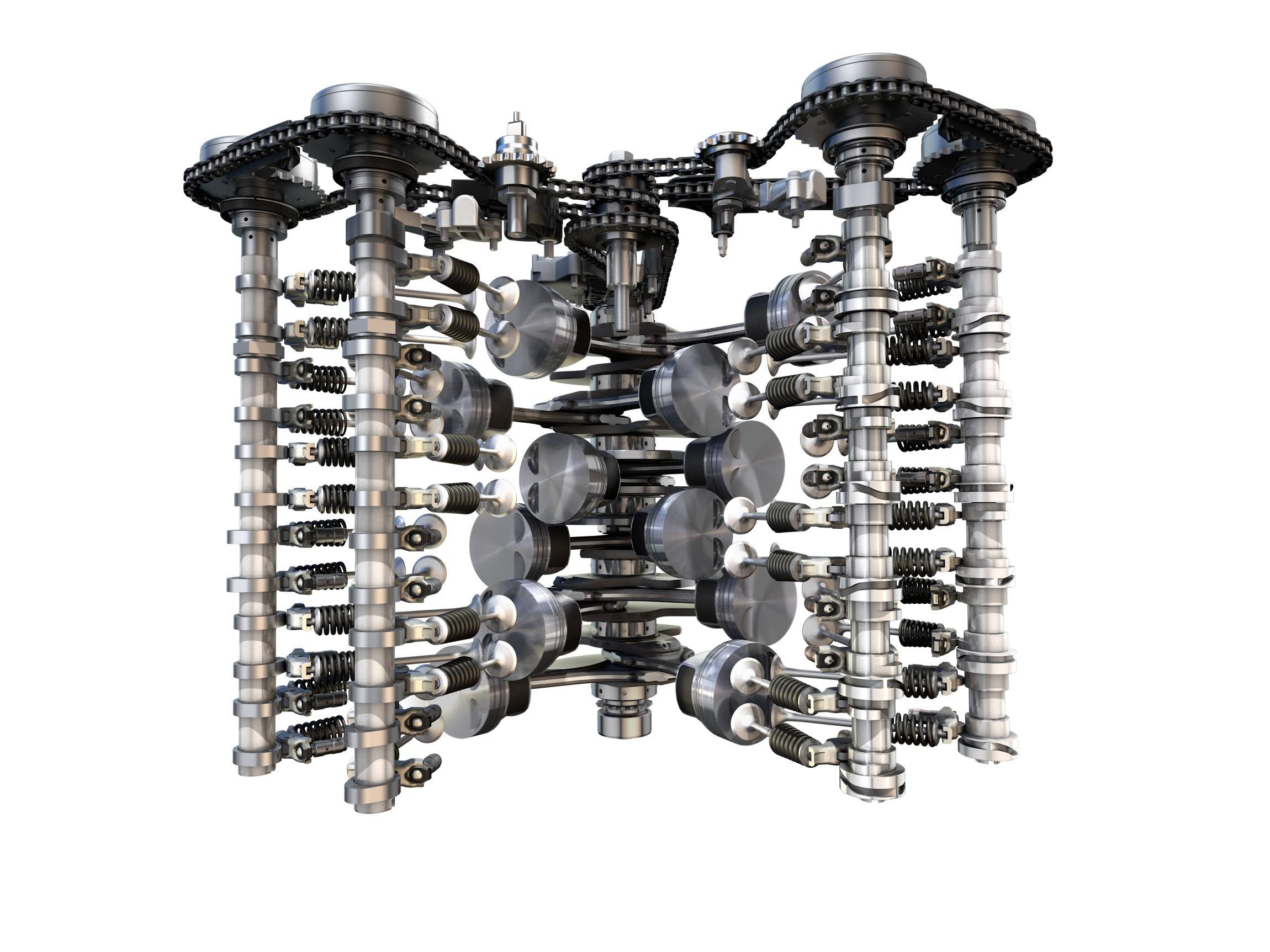 bentley engine schematics volkswagen unveils new 6-liter w12 tsi twin-turbo engine ... oldsmobile engine schematics #13