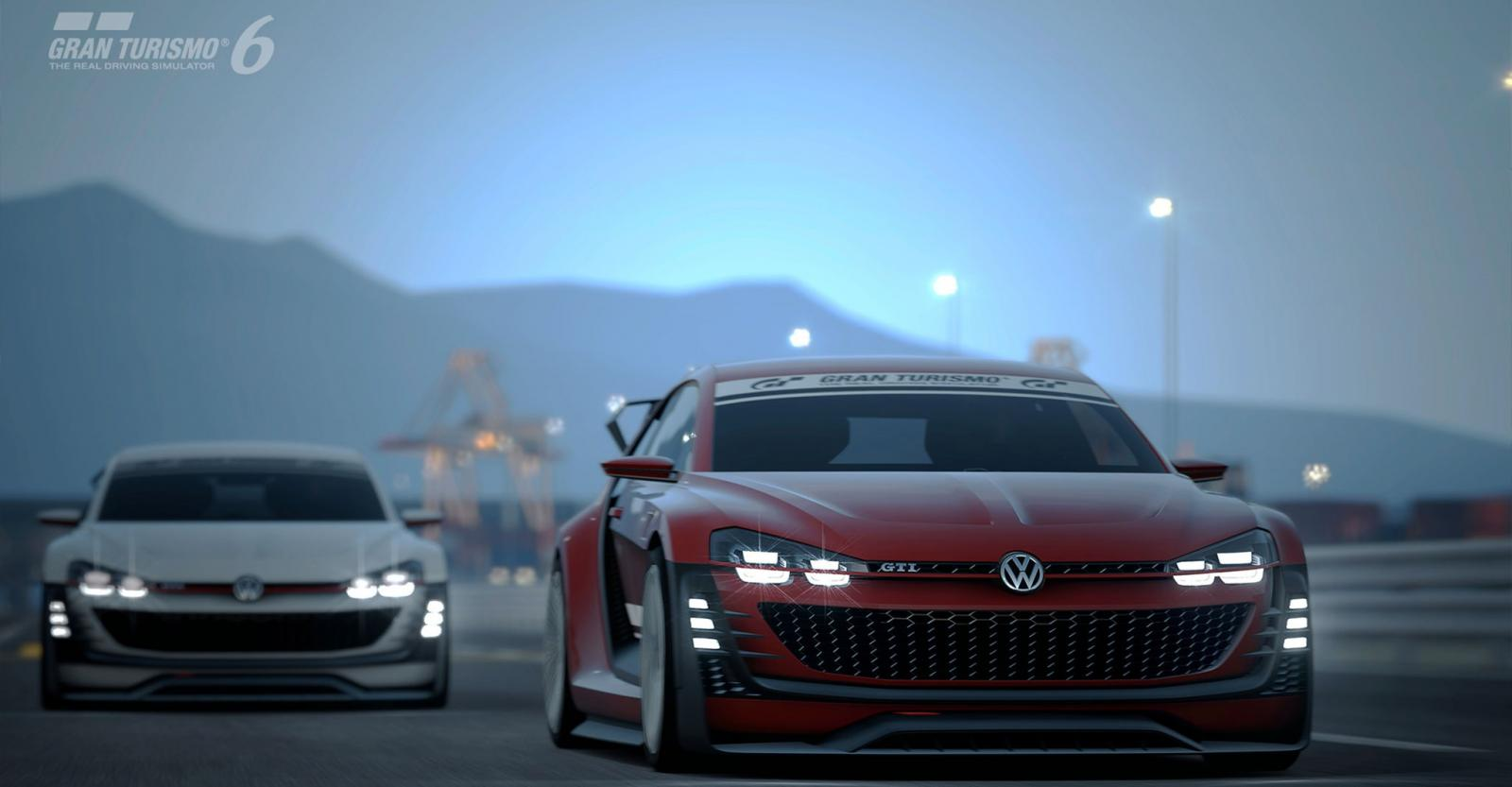 Volkswagen Unveils New GTI Supersport Vision Gran Turismo for GT6 - autoevolution