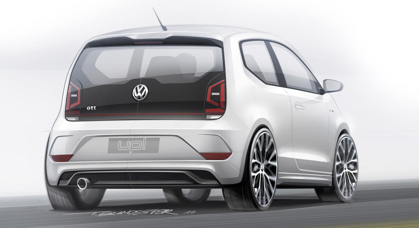 volkswagen up gti gets on track comparison with the original golf gti autoevolution. Black Bedroom Furniture Sets. Home Design Ideas