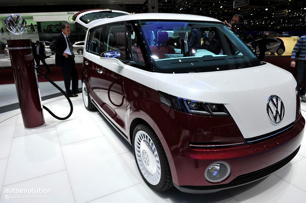 Volkswagen to Show New Microbus Concept at 2016 CES, Report Says - autoevolution