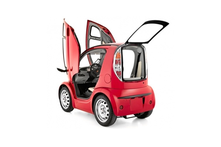 Volpe The World S Smallest Electric Car Autoevolution