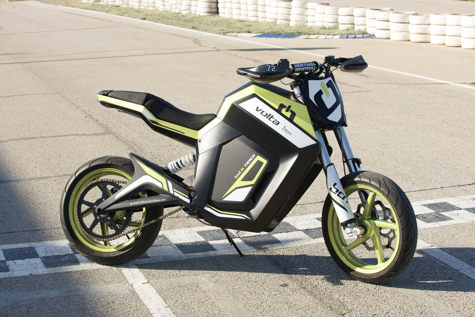 Volta BCN Sport, Electric Motorcycle Fun [Video ...