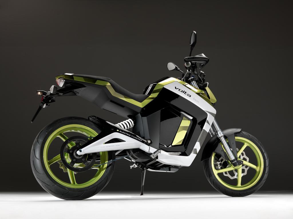 Volta Bcn Sport Electric Motorcycle Fun Video